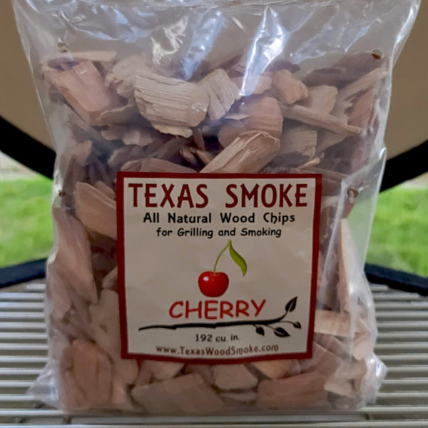 Cherry flavored smoking chips. Texas Smoke: All Natural Wood Chips for Grilling and Smoking