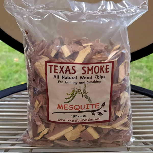 Mesquite flavored smoking chips. Texas Smoke: All Natural Wood Chips for Grilling and Smoking