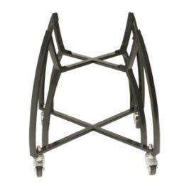 Saffire Bronze Cart with Bamboo Shelves