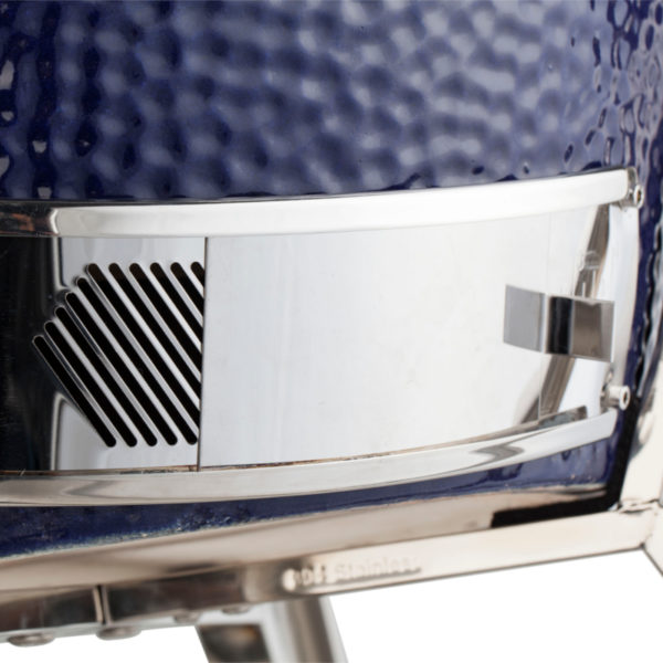 A bottom control pane for precision air-intake control