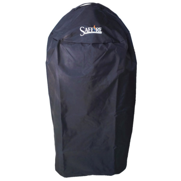 Saffire's grill covers are made with heavy duty UV resistant vinyl, and designed with a patented ventilation system