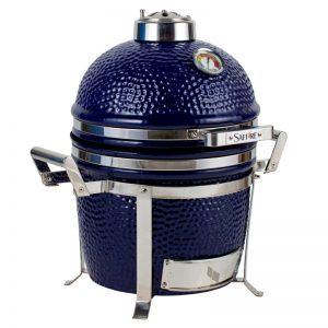 A 13 inch, Platinum class, Sapphire Blue grill from Saffire